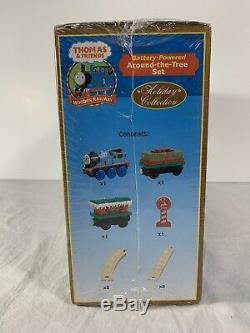 Thomas & Friends Wooden Track Railway Around the Tree Christmas Set NEW 2005