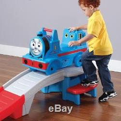 Thomas Roller Coaster Up And Down The Tank Engine Blue Train Indoor Outdoor Fun