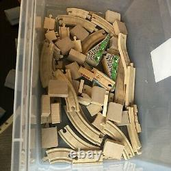 Thomas Tank Engine & Friends wooden trains, tracks and buildings 36 VEHICLES LOT