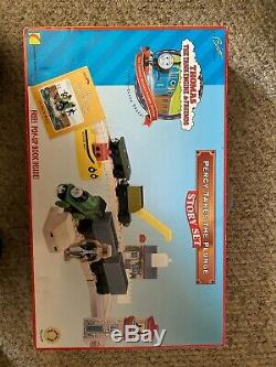 Thomas The Tank Engine And Friends Percy Takes The Plung Story Set MINT