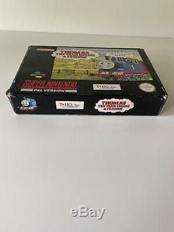 Thomas The Tank Engine And Friends SNES RARE Good Condition