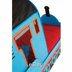 Thomas The Tank Engine Bed 18 Months + Toddlers + Includes Deluxe Foam Mattress
