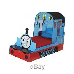 Thomas The Tank Engine Bed Kids Bedroom Furniture Wooden Boys Storage Bunk NEW