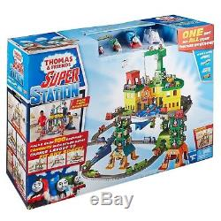 Thomas The Tank Engine Kids Fun Toy Friends Super Station Free Shipping