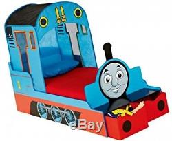 Thomas The Tank Engine Kids Toddler Bed With Underbed Storage HelloHome
