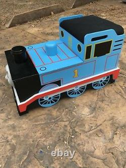 Thomas The Tank Engine Large Wooden Bench Toy Box