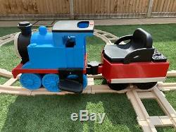 Thomas The Tank Engine Peg Perego Ride On Battery 6v Kids Train Track Toy