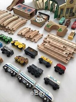 Thomas The Tank Engine Train Wooden Railway Tracks Pieces Parts Building