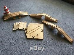 Thomas The Tank Engine train set (with wooden track and motorised trains)
