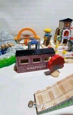 Thomas The Train Wooden Tracks, Clock Tower, Water Tower, Sir Topham, & More
