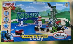 Thomas Wooden Railway Down By The Docks Set Lc99533 Retired