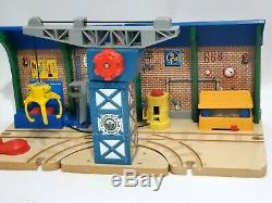 Thomas Wooden Railway Repair And Go Station At The Sodor Steamworks