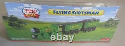 Thomas Wooden Train FLYING SCOTSMAN NEW IN BOX YEAR 2012 RARE
