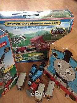Thomas and Friends wooden Learning Curve RARE Rheneas bundle boxed
