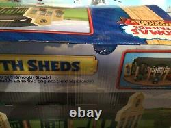 Thomas and friends wooden railway BNIB Tidmouth Sheds. Wow, One Off Item