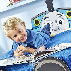 Thomas the Tank Engine Kids Toddler Bed with Underbed Storage by HelloHome