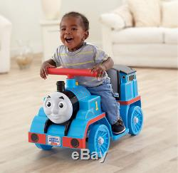 Thomas the Tank Engine Ride-On Toy + Train Track Set (Fisher-Price POWER WHEELS)