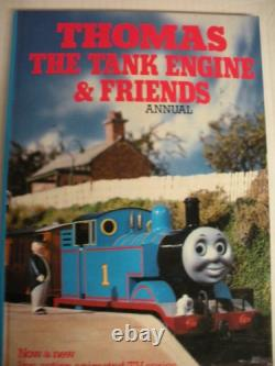 Thomas the Tank Engine and Friends Annual 1985 by Christopher Awdry Book The