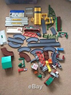 Thomas the Tank Engine bundle of Tomy Trackmaster Battery Trains, Track, Airport