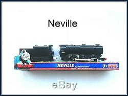 Thomas the Tank engine TRACKMASTER- Neville Compatible with all tracks new