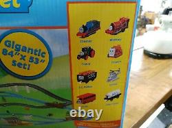 Thomas the Train Giant Set Motorized Road & Rail System Tomy 100% Complete