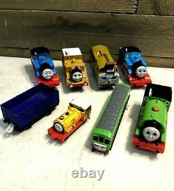 Thomas the Train Toy Collections Lot of (7) Trains Good Conditions 90s 00s