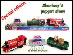 Thomas the tank engine TRACKMASTER TRAIN Skarloey Puppet Show new in box