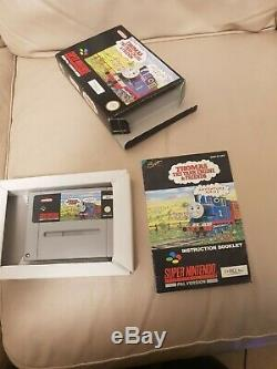 Thomas the tank engine snes super nintendo game uncommon good condition