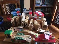 Thomas the tank engine track, bridges, station, turntable plus much more