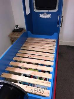 Thomas the tank engine / train bed bespoke handmade childs bed and signal box