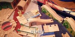 Thomas the tank engine wooden bundle wooden track and trains