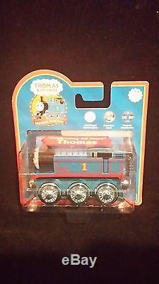 Thomas wooden discontinued Very Rare Complete Set of wooden Metallic Trains NEW