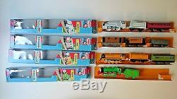 Tomy Thomas Trackmaster Collection Including Turntable, Shed and 9 Extra Trains