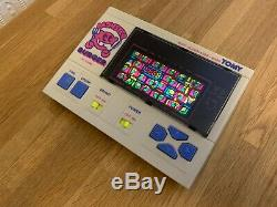 Ultra Rare Tomy Monster Burger Vintage 1983 Electronic Game Bright LCD, Superb