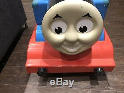 Very Rare Large Thomas the Tank Engine Train sit In pedal car. Ride on toy
