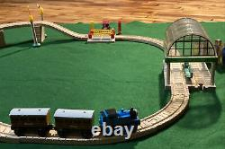Vintage Thomas Bertie Great Race Wooden Train Set COMPLETE++ Tired Face Knapford