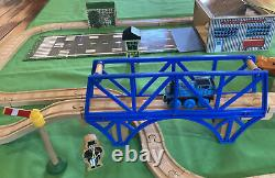 Vintage Thomas Wooden Train Set Jeremy & the Airfield COMPLETE! Jet Hangar Tower