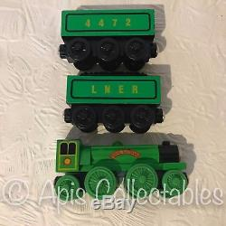WOODEN THOMAS The Tank Engine THE FLYING SCOTSMAN Brio / Learning Curve
