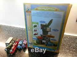 Wooden thomas the tank engine talking cranky naming the included trains x 5